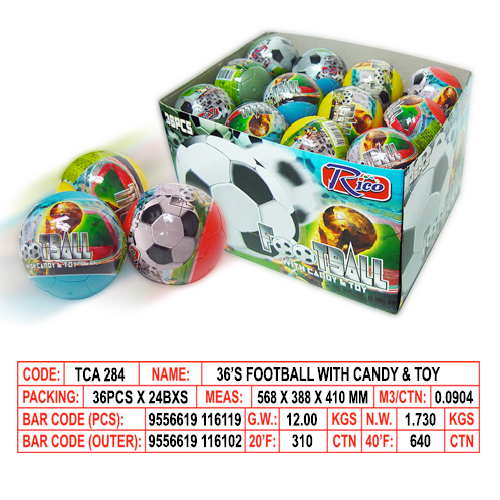 Football with Candy