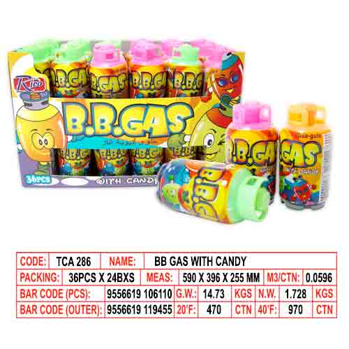 BB Gas with Candy