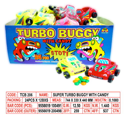 Super Turbo Buggy with Candy