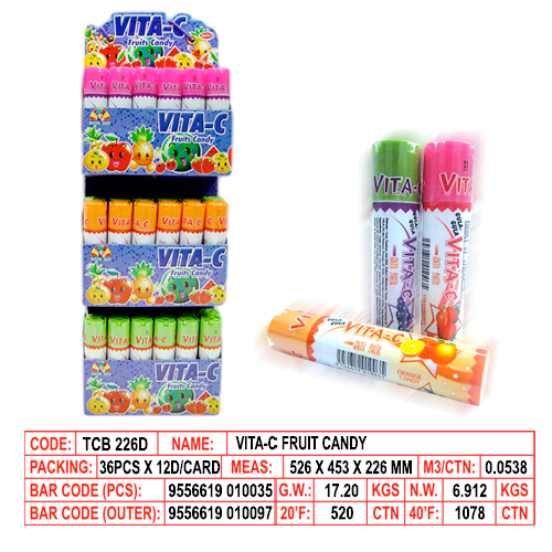 Vita-C Fruit Candy