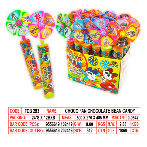 Choco Fan Chocolate Bean Candy