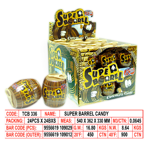 Super Barrel Candy