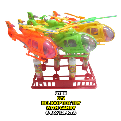 Helicopter Toy with Candy
