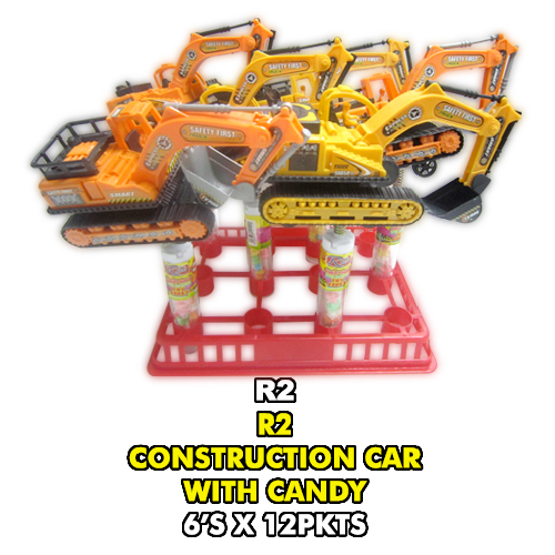 R2 Construction Car with Candy