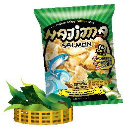 Hajima Crispy Salmon Skin - Nori Seaweed