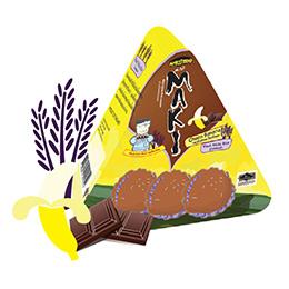 Maki Jasmine Rice Crackers - Choco Banana