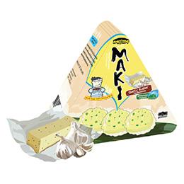 Maki Jasmine Rice Crackers - Garlic Butter