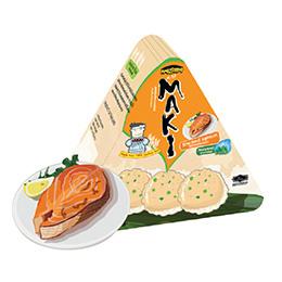 Maki Jasmine Rice Crackers - Smoked Salmon