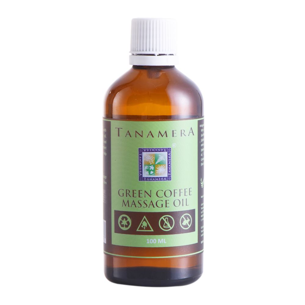 Tanamera Green Coffee Detox Massage Oil