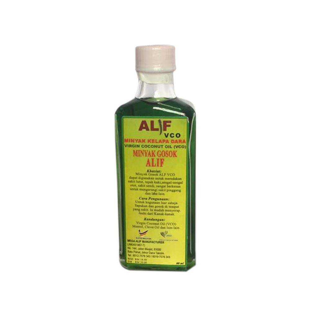 Alif VCO - Massage Virgin Coconut Oil Herb