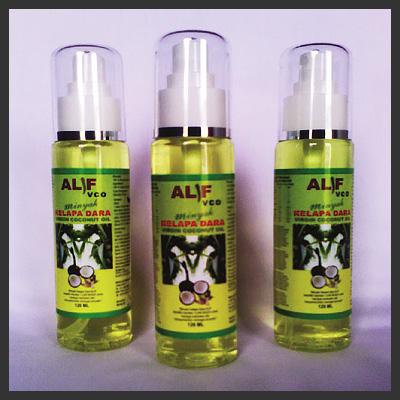 Alif VCO - Virgin Coconut Oil Herb