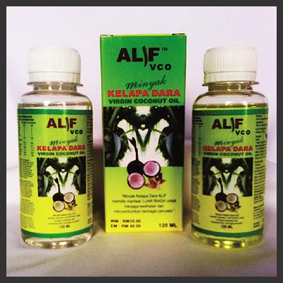 Alif VCO - Virgin Coconut Oil Herb / Virgin Coconut Oil Crystal