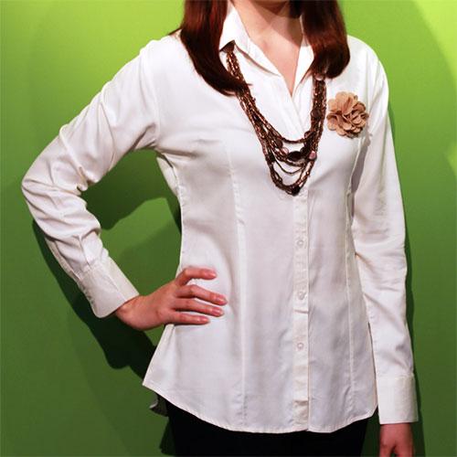 Arundinaria Bamboo Woven Shirt (Women)