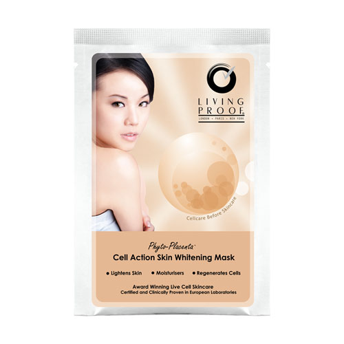 Living Proof Cell Action Skin Whitening Mask 4pcs