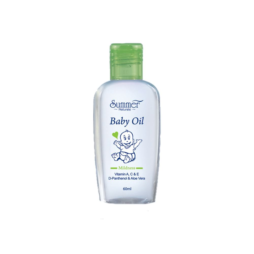 Summer Naturale Baby Oil (Green)