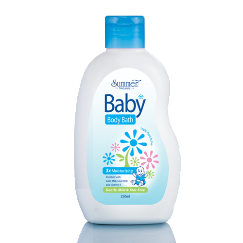 Summer Naturale Baby Bath Moisturizing