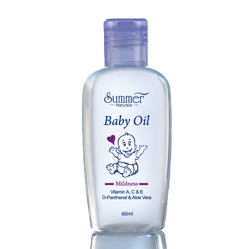 Summer Naturale Baby Oil (Purple)