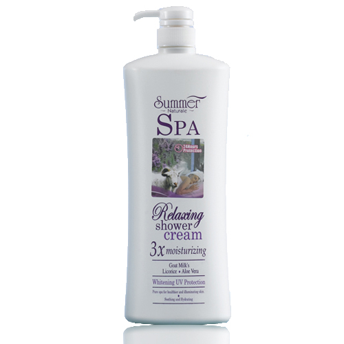 Summer Naturale Relaxing Spa Shower Cream