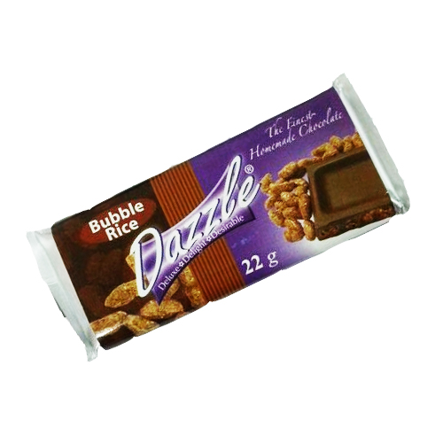 Mini Bar – Milk Chocolate with bubble rice
