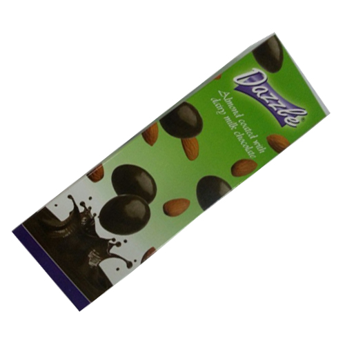 Almond coated with milk chocolate