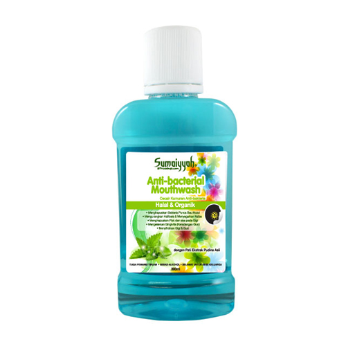 Sumaiyyah Anti-Bacterial Mouthwash (Peppermint)
