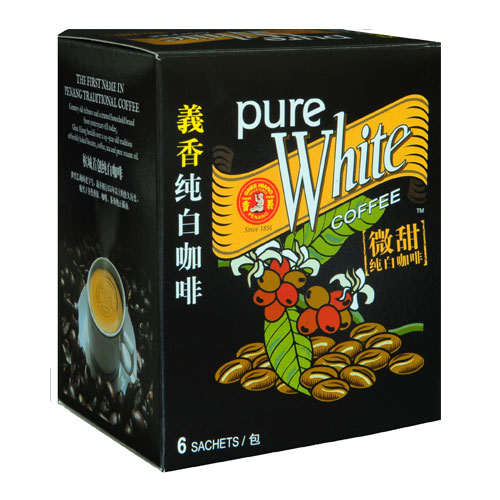 Pure White Coffee (Less Sugar)