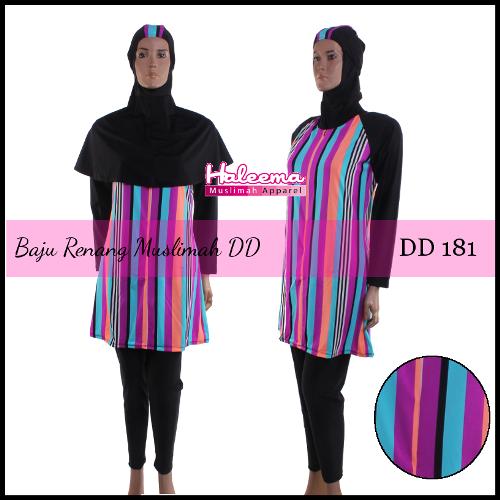 Baju Renang Muslimah DD181