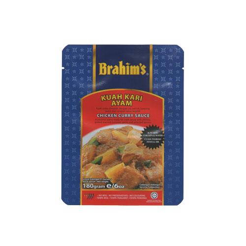 Brahims Chicken Curry Sauce