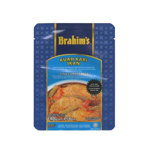 Brahims Fish Curry Sauce