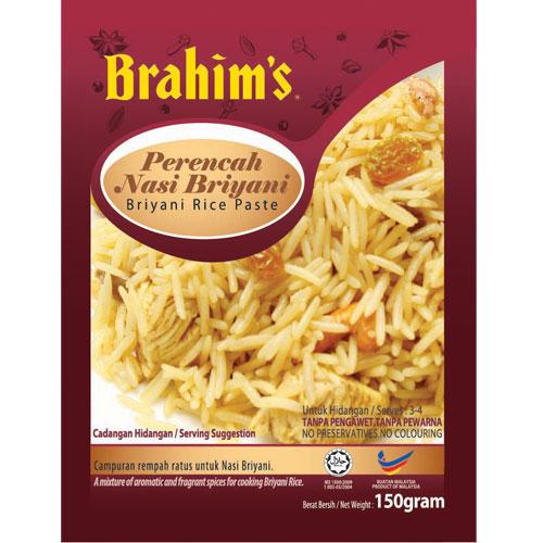 Brahims Briyani Rice Paste