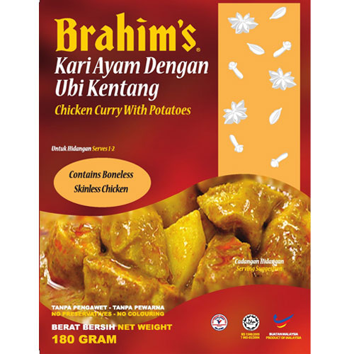 Brahims Chicken Curry with Potatoes