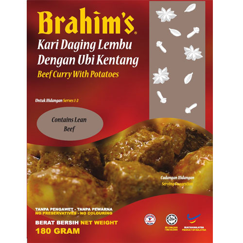 Brahims Beef Curry with Potatoes