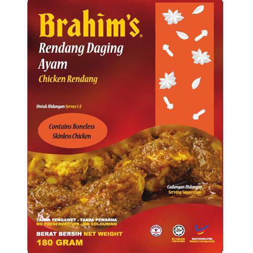 Brahims Chicken Rendang