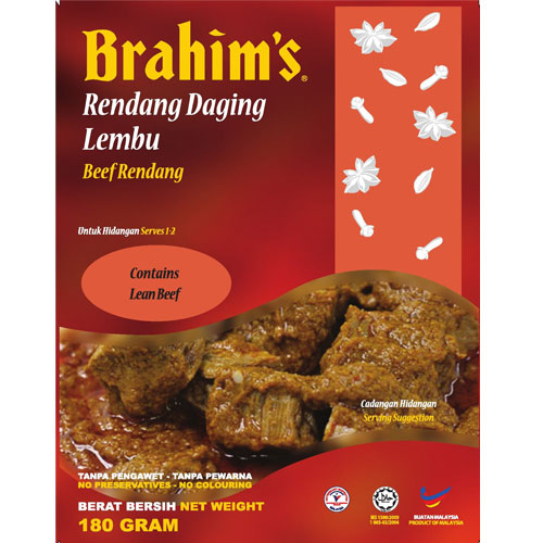 Brahims Beef Rendang