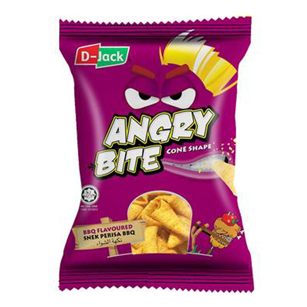 D-Jack Angry Bite BBQ Flavour
