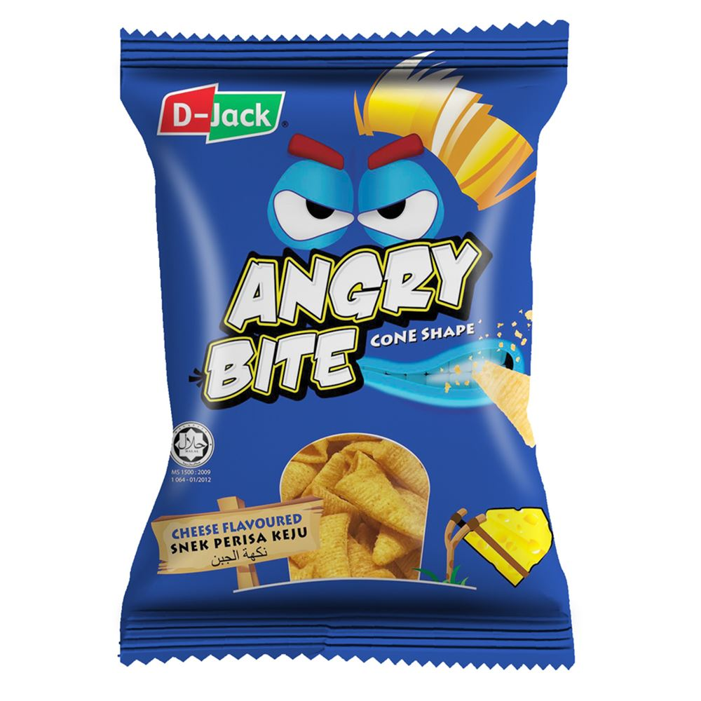 D-Jack Angry Bite Cheese Flavour