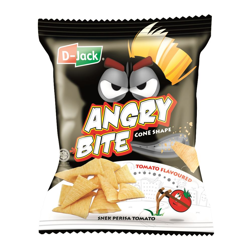 D-Jack Angry Bite Tomato Flavour