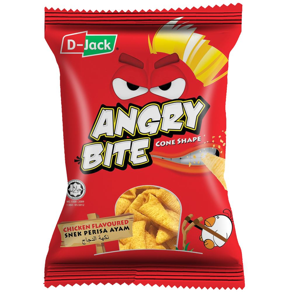 D-Jack Angry Bite Chicken Flavour