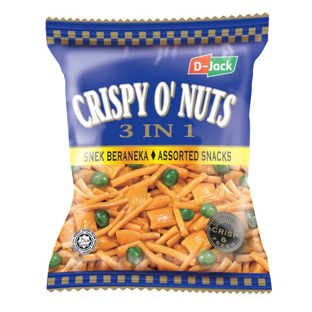 D-Jack Crispy O' Nuts