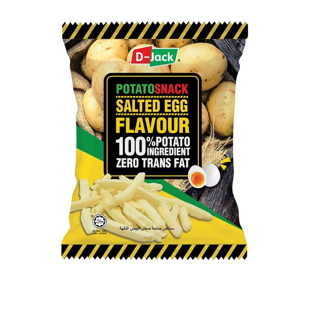 D-Jack Potato Snack Salted Egg