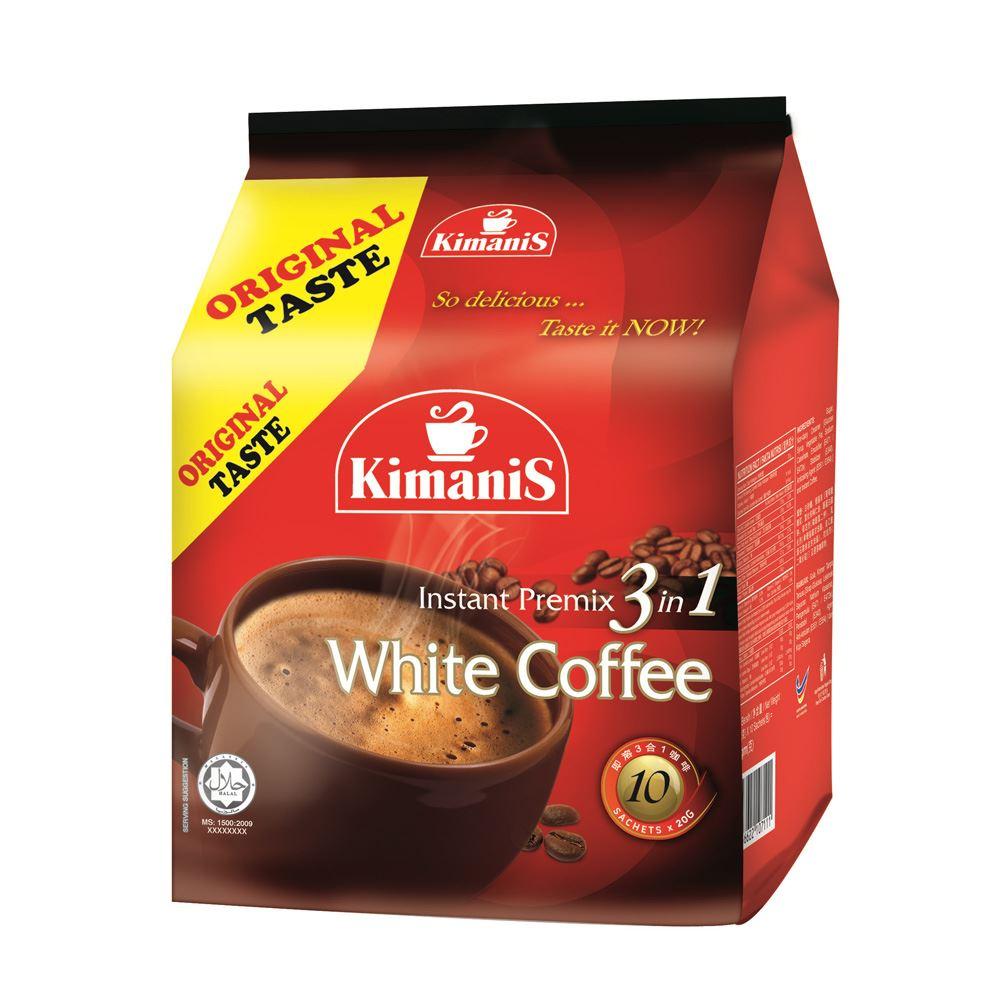 Instant Premix 3 in 1 White Coffee