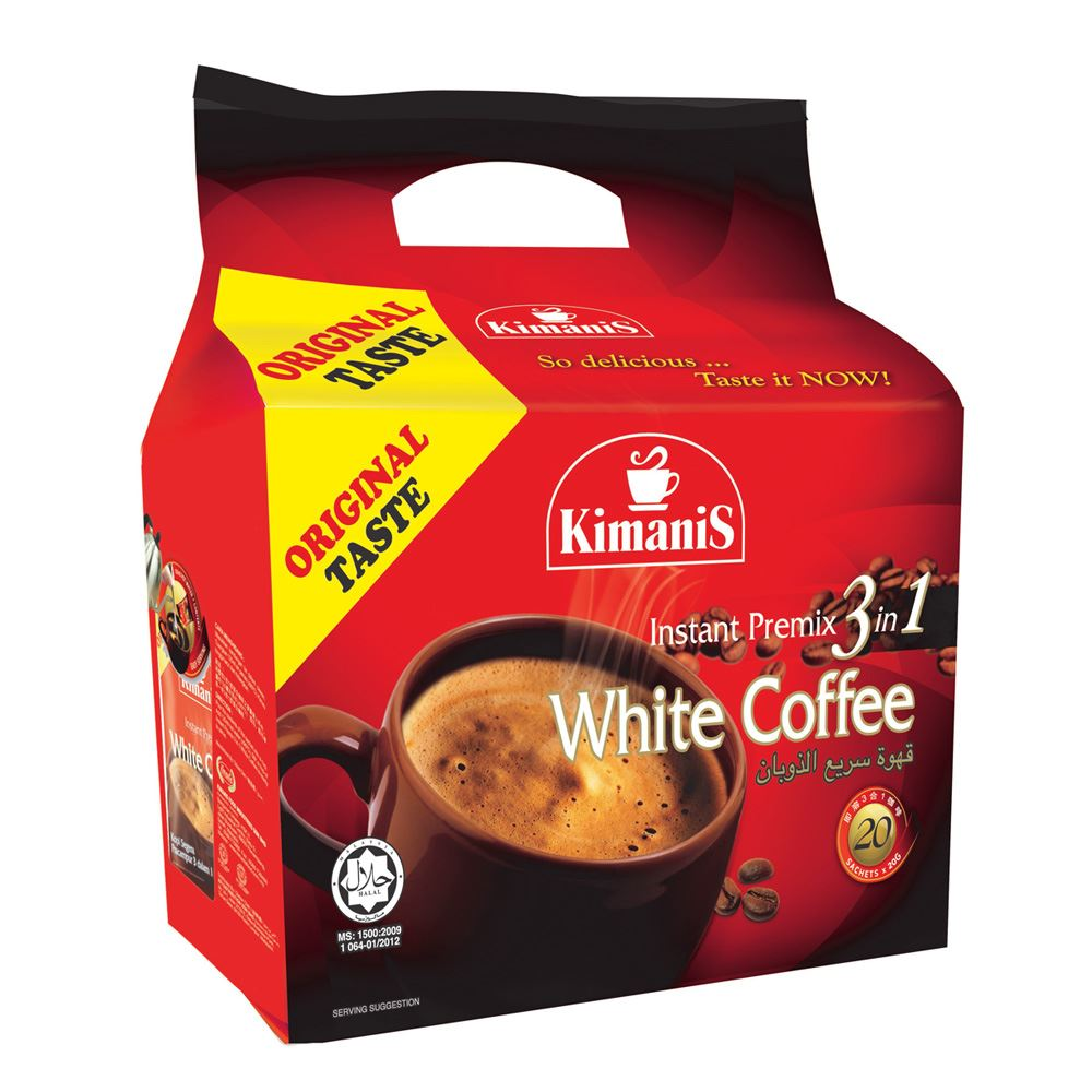 Instant Premix 3 in 1 White Coffee