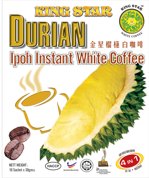 Durian White Coffee 4 in 1