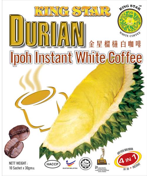 Durian White Coffee