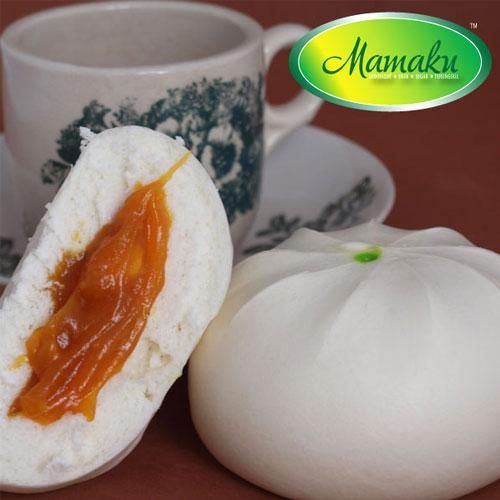 Coconut Egg Jam Pau (Pau Kaya)
