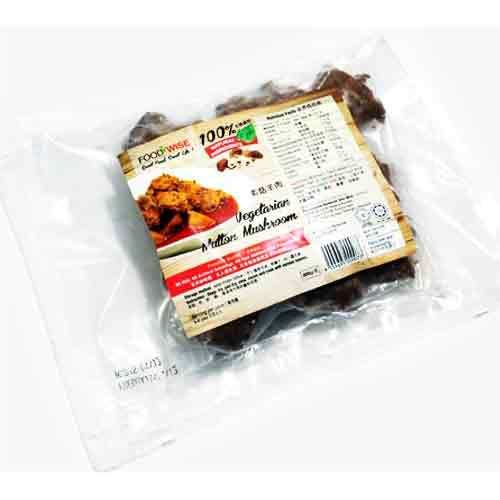 Vegetarian Mutton Mushroom