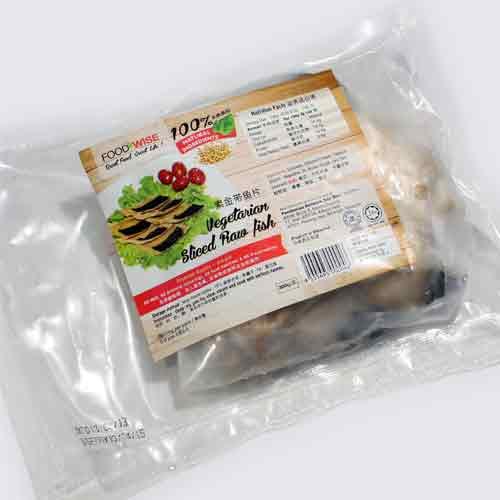 Vegetarian Sliced Raw Fish