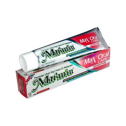 Mu'min Max Oral Care Toothpaste - Sensitive