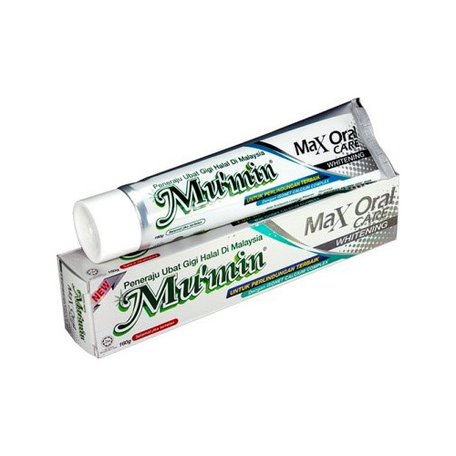 Mu'min Max Oral Care Toothpaste - Whitening