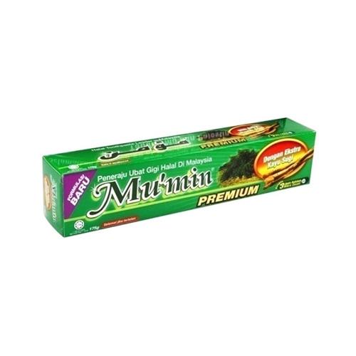 Mu'min Premium Toothpaste(With Extra Miswak Stick)